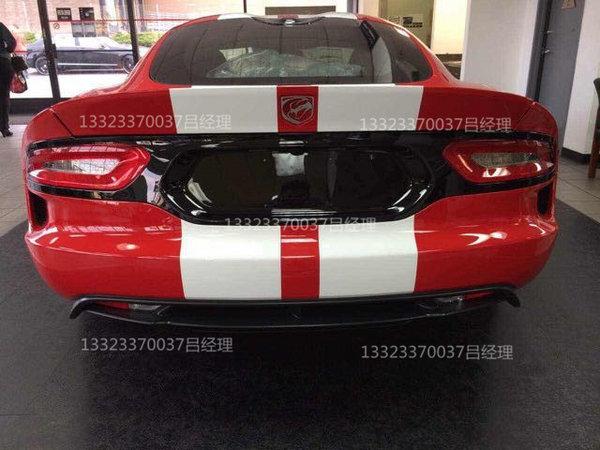 道奇蝰蛇V10跑车8.4L排量 DodgeVipergts高清图片