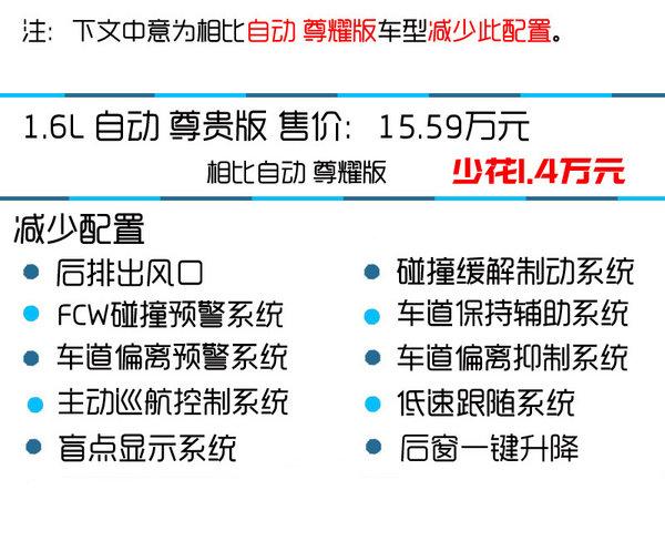 推荐MT/CVT豪华版 东风本田思域购买推荐-图6