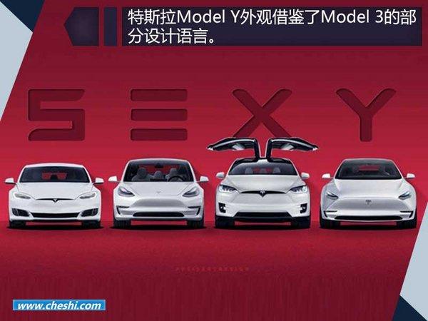特斯拉Model Y最新渲染图  采用Model 3平台-图4