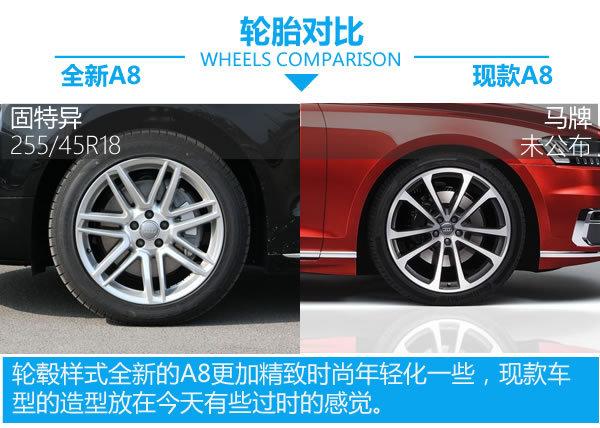 高科技旗舰步入中年 全新A8对比现款A8-图5