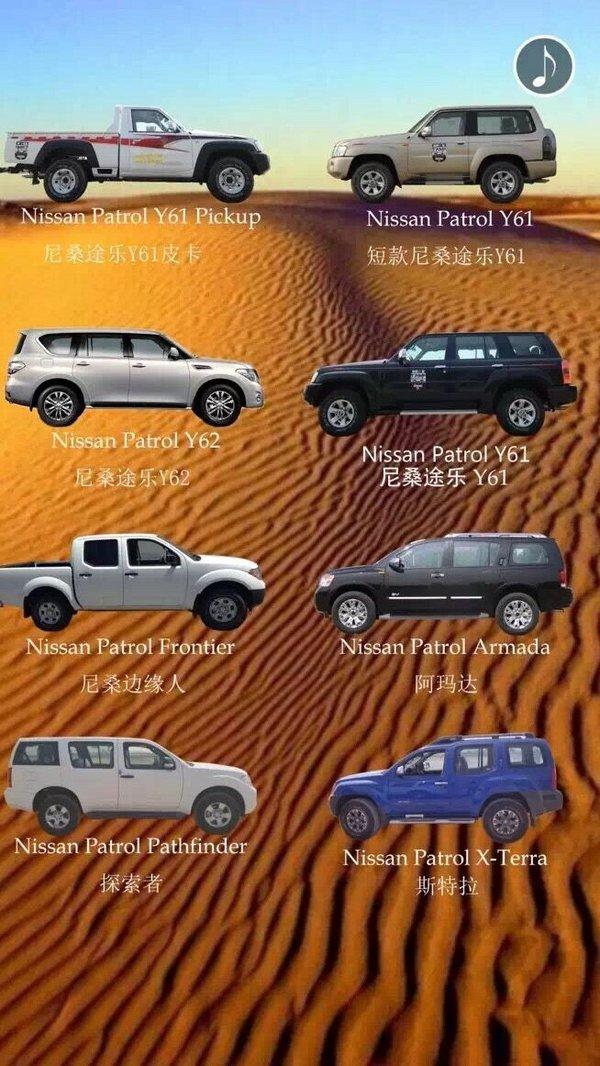 天津日产尼桑途乐Y62价格 7月配置批发价-图3