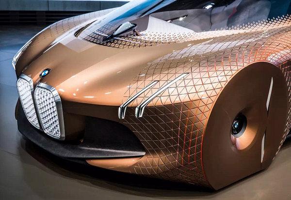 预示未来 宝马100周年概念车于国内首发-图4