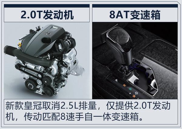 顶配车涨0.2万元 一汽丰田新款皇冠26.48万起售-图7