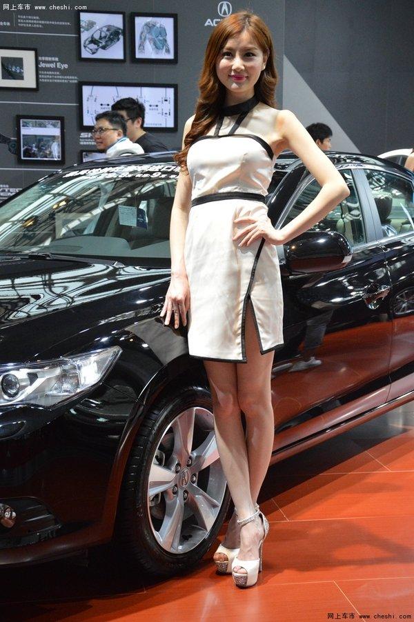 2016湖南车展讴歌车模