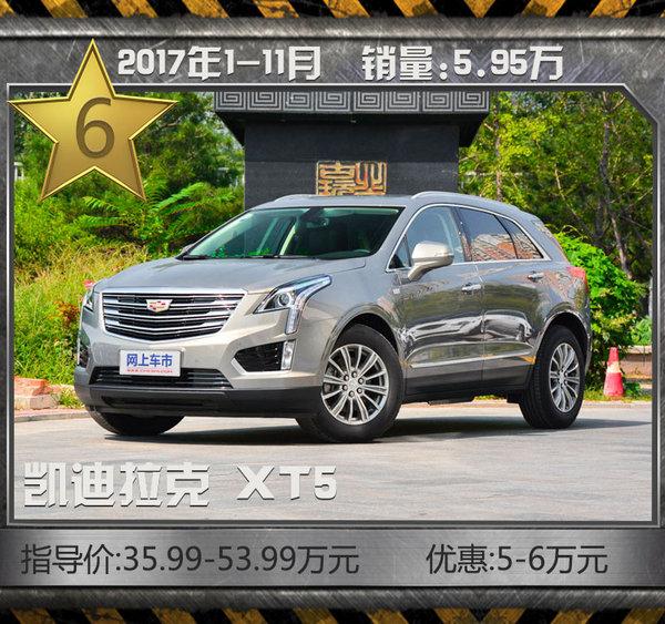 这十款豪华SUV最热销!11月最高降价近20万元-图10