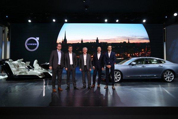 S90北京車展亞洲首秀 北歐豪華新趨勢-圖2