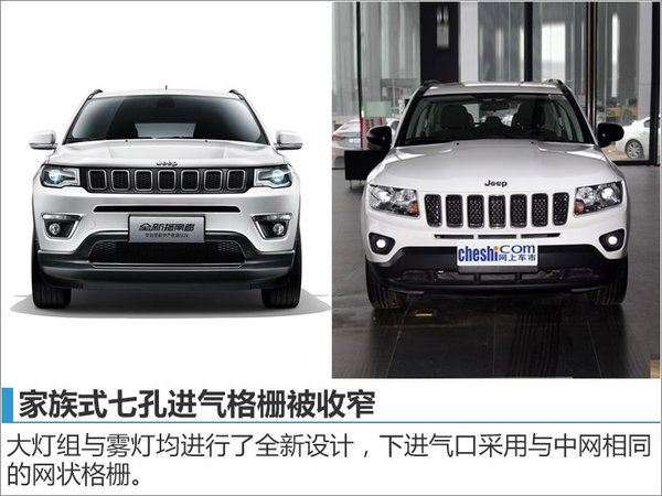 Jeep全新指南者配置首曝光 12月28日上市-图3