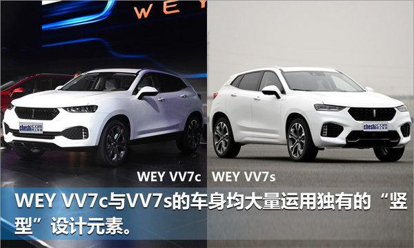 WEY VV7c/VV7s上市 售XXXX-XXXX万元-图2