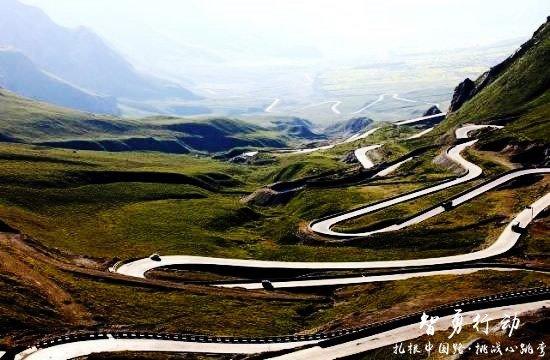 """没去过这些路你也能说喜欢自驾?——盘点中国十大""""最弯""""公路-图9"""