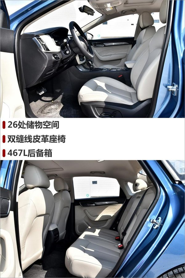 上汽荣威i6正式上市 车身尺寸超大众速腾-图4
