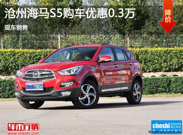 沧州海马S5购车优惠0.3万 现车销售-图1