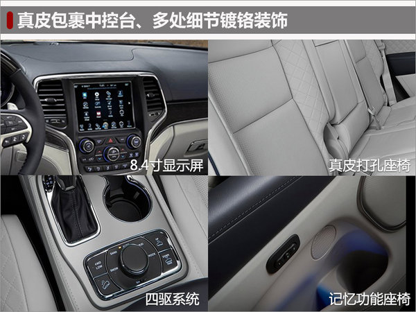 Jeep全新大切诺基明日上市 预计50万起-图6