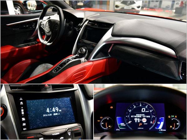 讴歌超级跑车NSX今日上市 预售335万起-图4