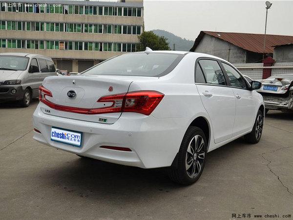 比亚迪秦EV300/e5上市 售22.98-30.98万-图3