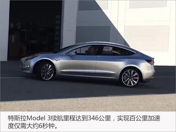 特斯拉Model 3无伪谍照 9月将正式上市-图1