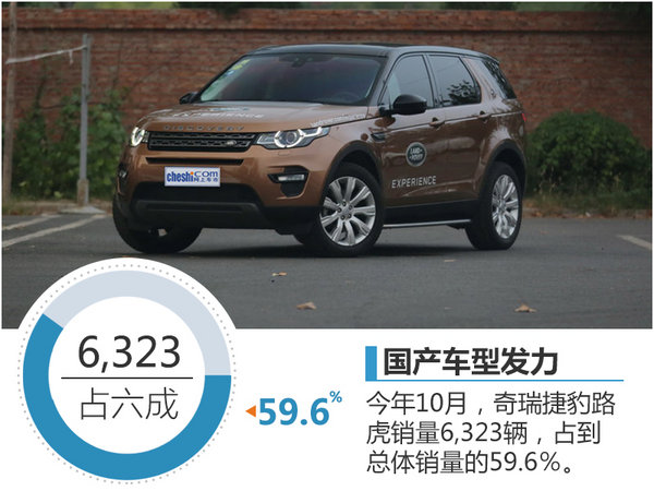 捷豹路虎销量增长30.9% 国产车型发力-图-图3
