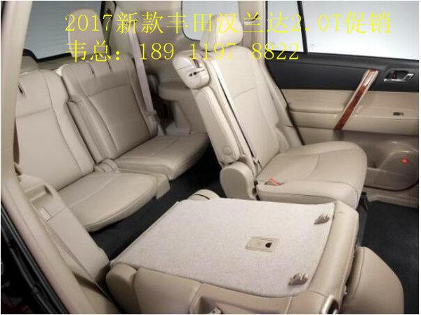 17款丰田汉兰达报价 新款2.0T涡轮增压-图7