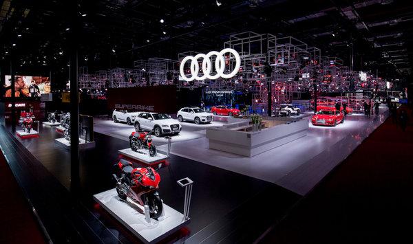 一汽-大众奥迪携20余款车型等上海车展-图1