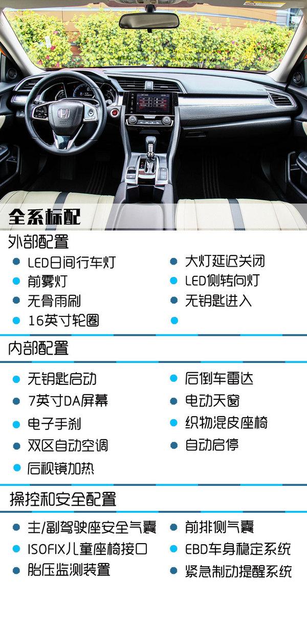 推荐MT/CVT豪华版 东风本田思域购买推荐-图3