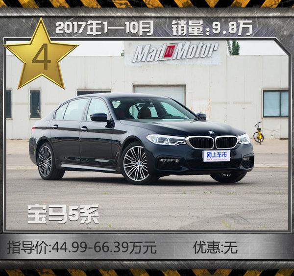 最热销10款豪华品牌轿车!10月最高优惠达7折-图7