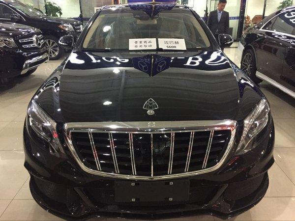 16奔驰迈巴赫S600巴博斯版现车提车优惠 -奔驰S级图片