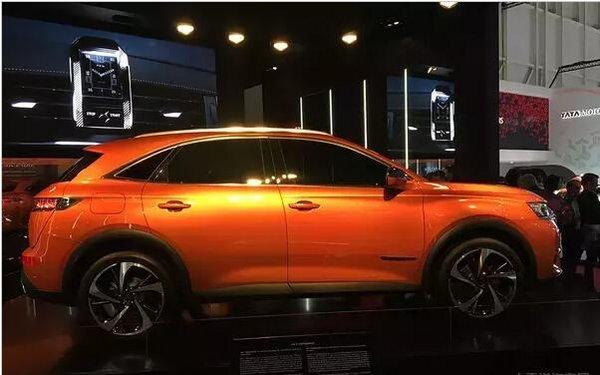 DS新车结构暴光 每年将推一款新能源车型-图3