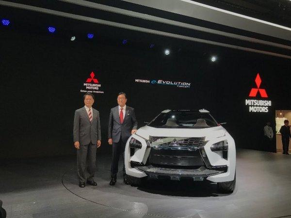 东京车展火热开幕,三菱汽车发布全球品牌战略及新款纯电动概念SUV——e-Evolution-图3