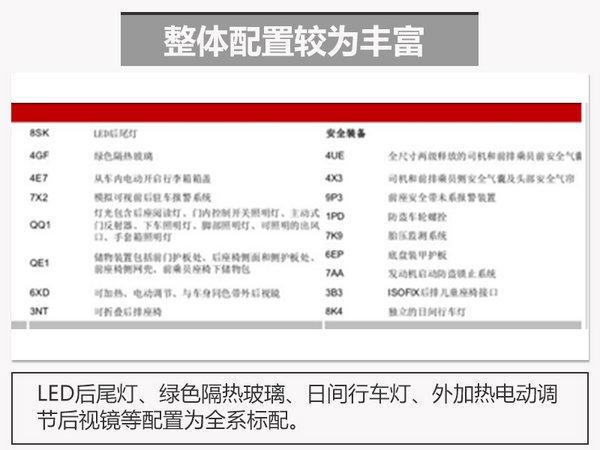 全新奥迪A5配置曝光 预计售价40万元起-图2