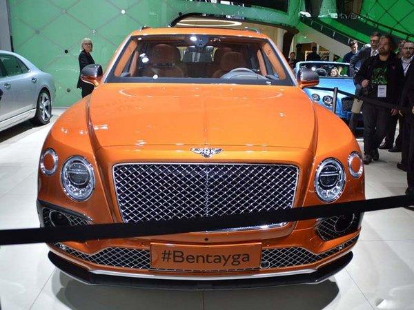 2017款宾利添越SUV 添越bentayga提车价-图2
