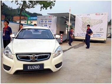 广州首座换电站启用  出租车驶入新模式-图3