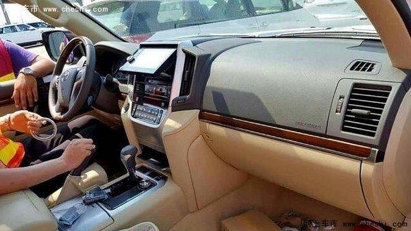 17款丰田兰德酷路泽4000价格只代表速度-图2