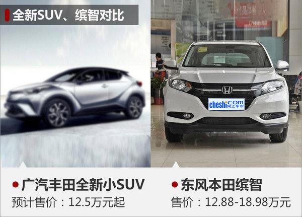 广汽丰田全新SUV上海车展亮相 竞争缤智-图4