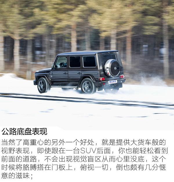 勇敢坚毅无出其右 冰雪试驾2017款奔驰G500-图9