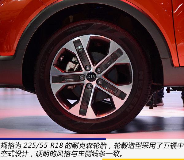 像索兰托那样粗犷 广州车展实拍起亚全新SUV NP-图9