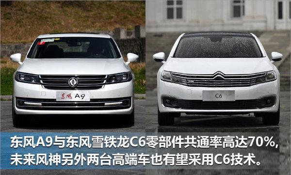 东风风神再推两款高端车 与雪铁龙C6共享技术-图3