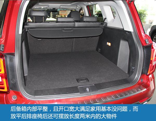 都市大5座SUV 东莞实拍广汽传祺GS7-图18