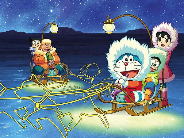 哆啦A梦小伙伴南极冒险 他们开什么车最合适?-图2