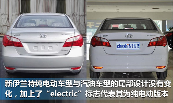 北京现代伊兰特电动版将上市 续航超宝马i3-图2