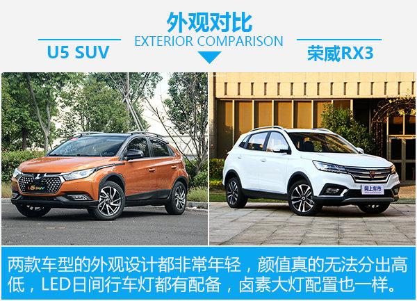 寻找聪明的青春良伴 纳智捷U5 SUV对比荣威RX3-图3