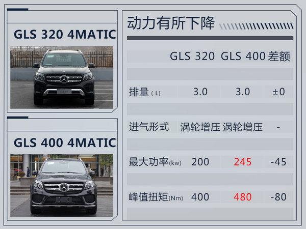 奔驰GLS 320入门版上市售102.8万 大降13万元-图3