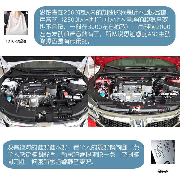 专治买车纠结症 广本新雅阁PK东本思铂睿-图4