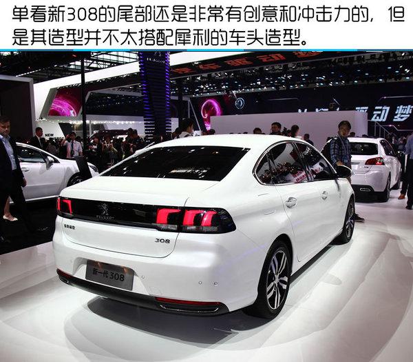 2016年北京国际车展 东风标致新308实拍-图9