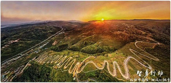 """没去过这些路你也能说喜欢自驾?——盘点中国十大""""最弯""""公路-图13"""