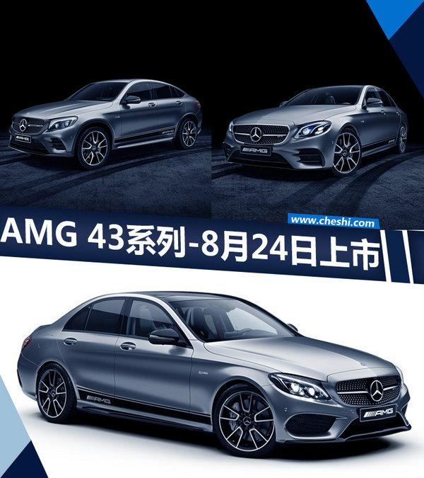 梅赛德斯-AMG六缸家族命名43系列 8月24日上市-图1