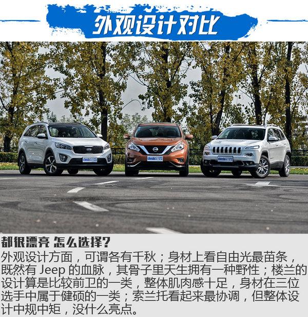 三国鼎立之SUV横评 自由光/楼兰/索兰托对比-图2