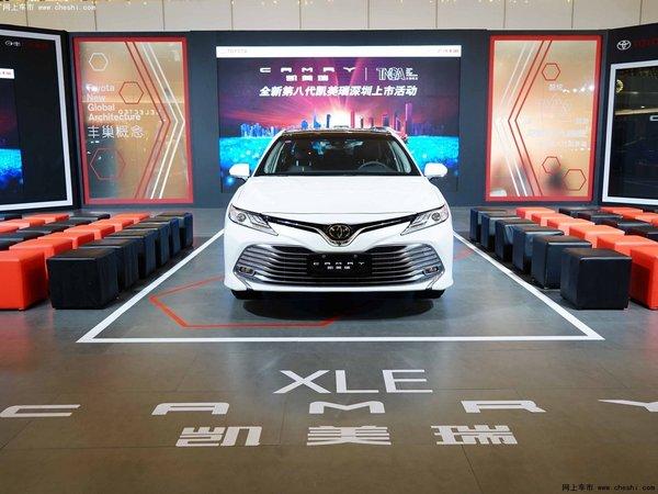 全新第八代凯美瑞深圳上市 全国订单3万-图4