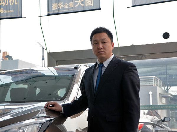 访北京连振高超现代4S店 总经理白建伟-图3