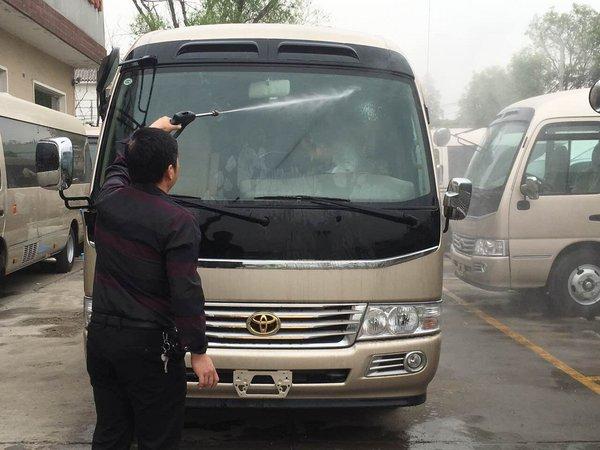 2017款丰田考斯特 豪华商务车改装更实惠-图2