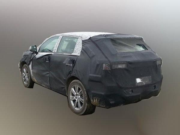 【此前曝光的吉利L品牌首款SUV谍照】-概念车同时亮相 吉利L品牌10高清图片