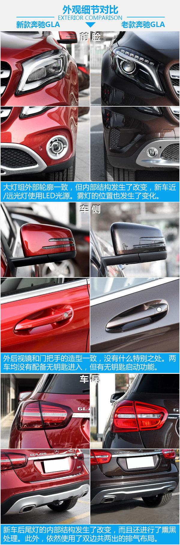 要时尚还是实惠?北京奔驰GLA新老车型对比-图5